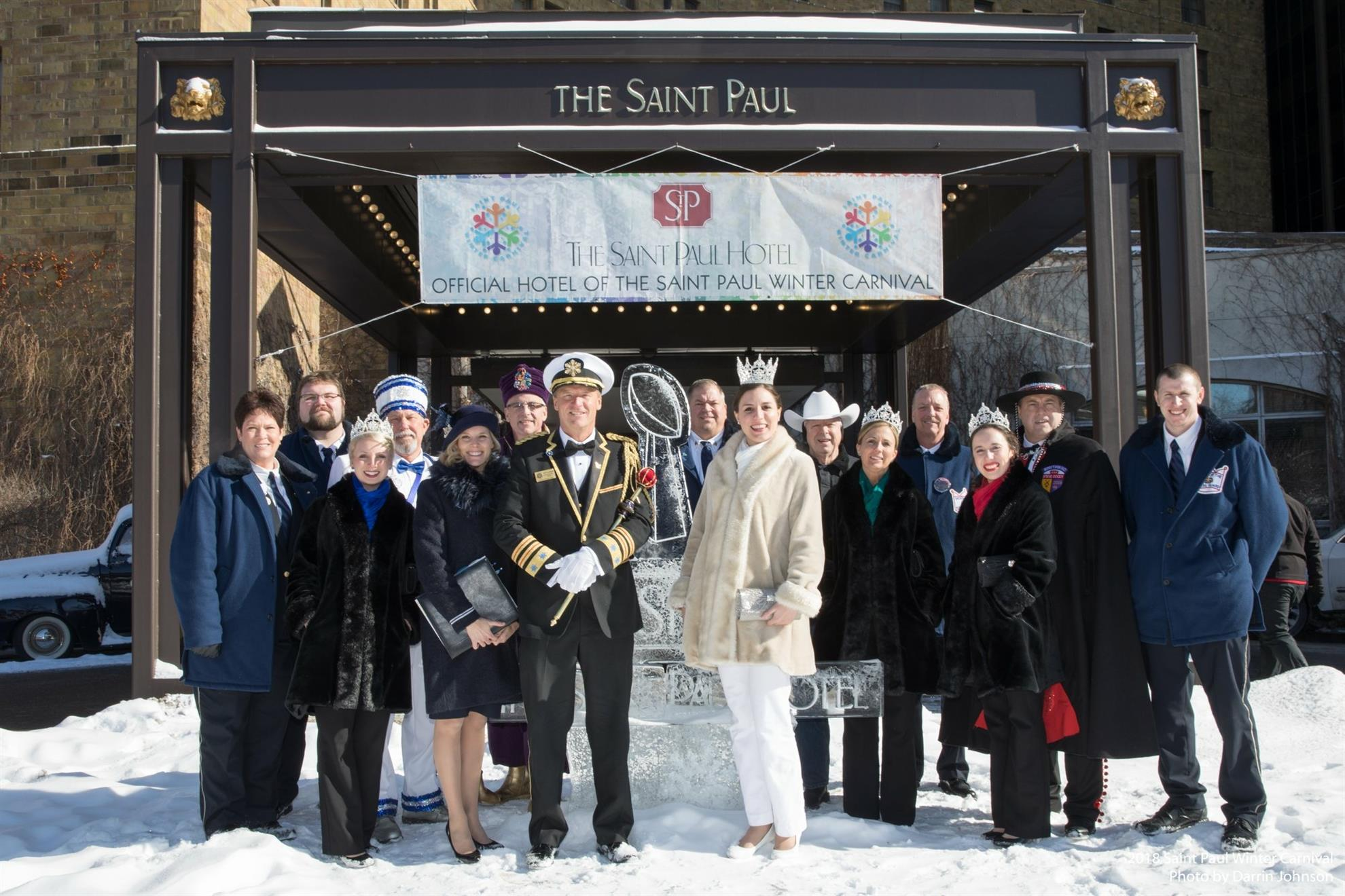 1bdd118485 The 2018 St. Paul Winter Carnival Royal Family will be the program speakers  at the Thursday