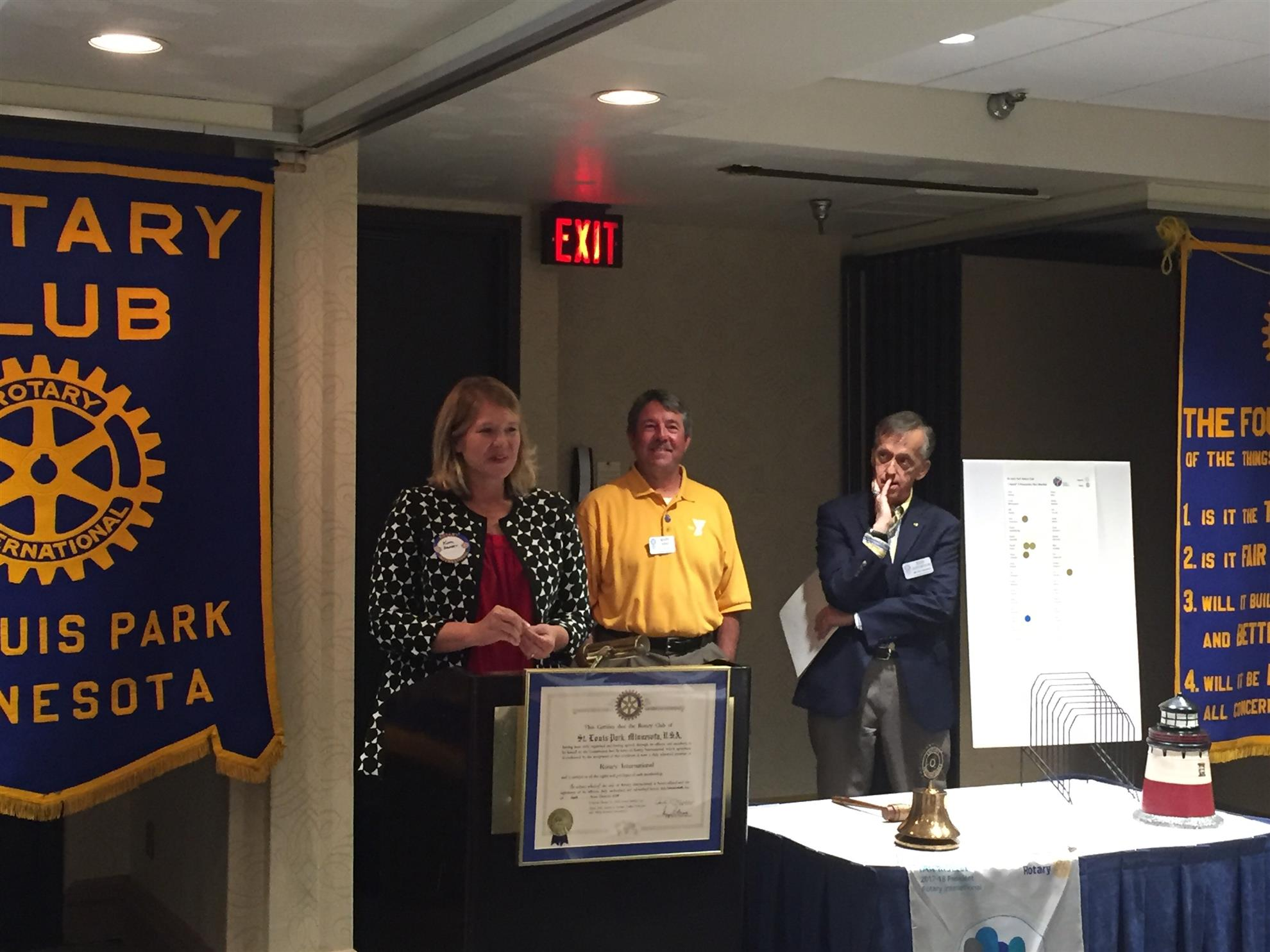 July 31 Recap Rotary Club Of St Louis Park