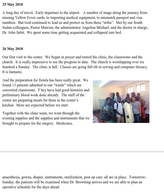 Updates from Mark Jacobson in Tanzania | Rotary club of