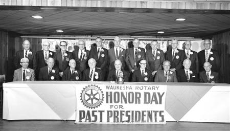 Past Presidents Lunch