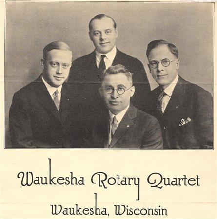 Famous Rotary Quartet