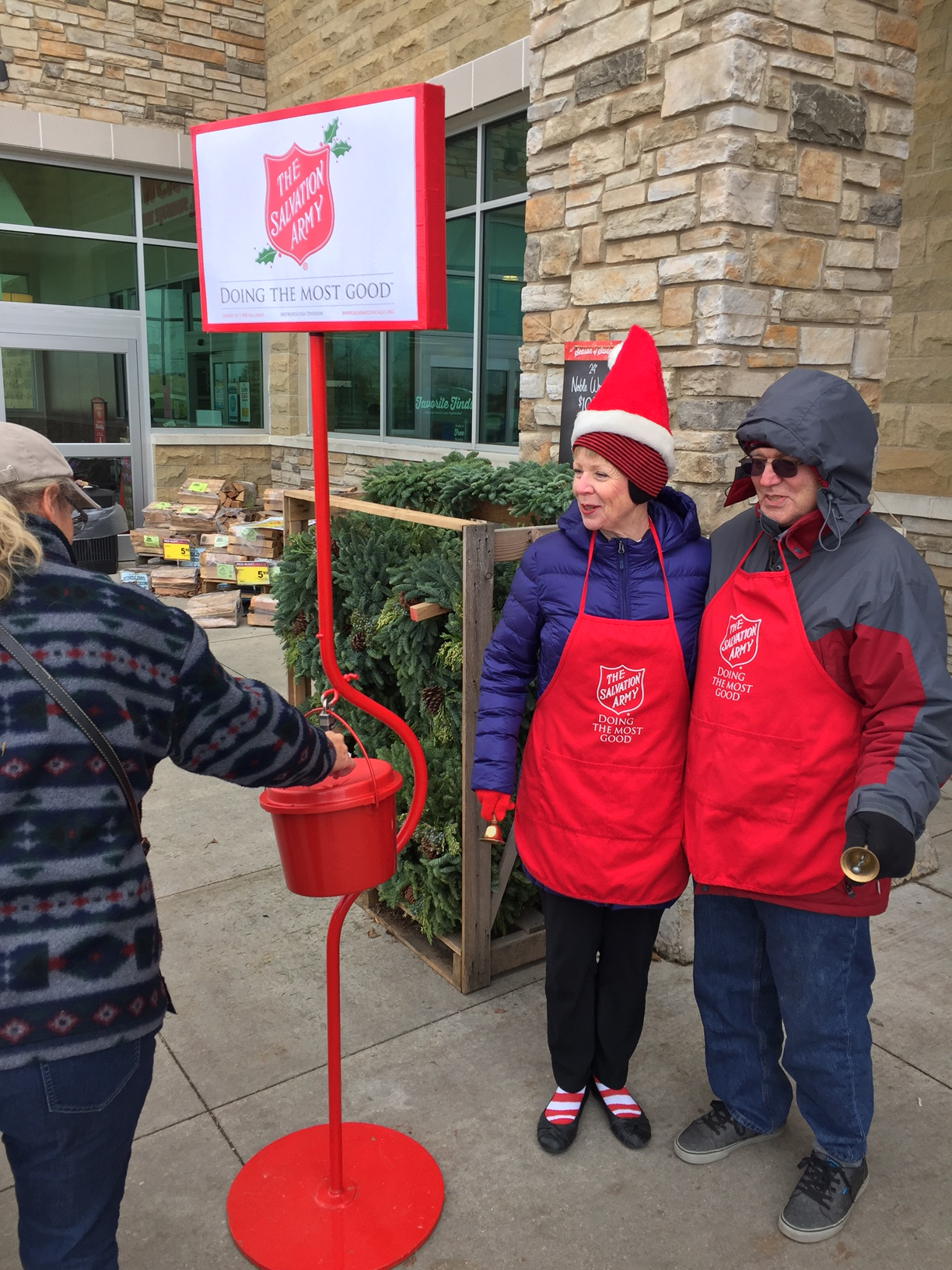 stories rotary club of sycamore rotarians sally bruch left and lavarre uhlken on duty at the jewel osco store in sycamore they were among the many rotarians that assisted the