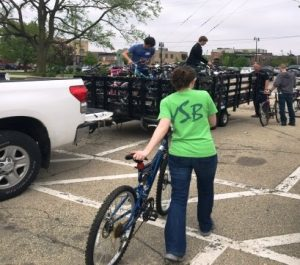 8fa27db715a Volunteers are still needed for our final Rotarians at Work Days project  for this year -- the Youth Service Bureau's bicycle auction, to be held on  Saturday ...