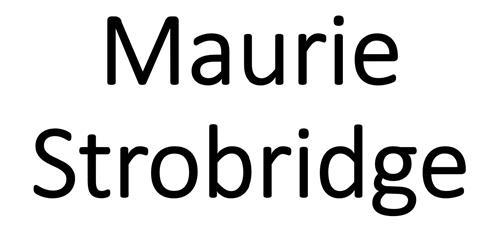 Maurie Strobridge
