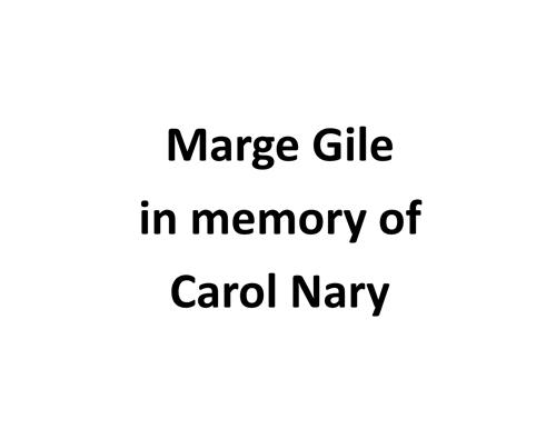 Marge Gile / Nary