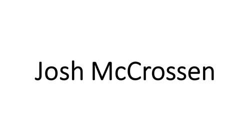 Josh McCrossen