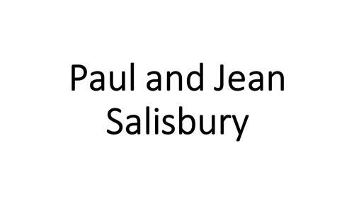 Paul & Jean Salisbury