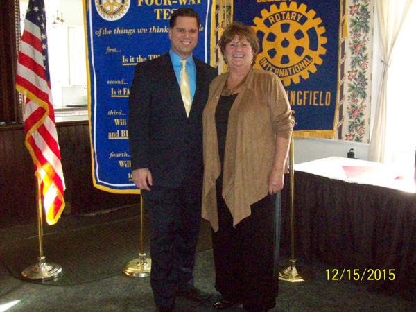 Ryan Walsh, Channel 22 News | Rotary Club of West Springfield