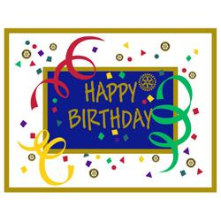 The Best Birthday Present You Could Give Rotary Would Be To Make A Donation In Any Amount Annual Programs Fund