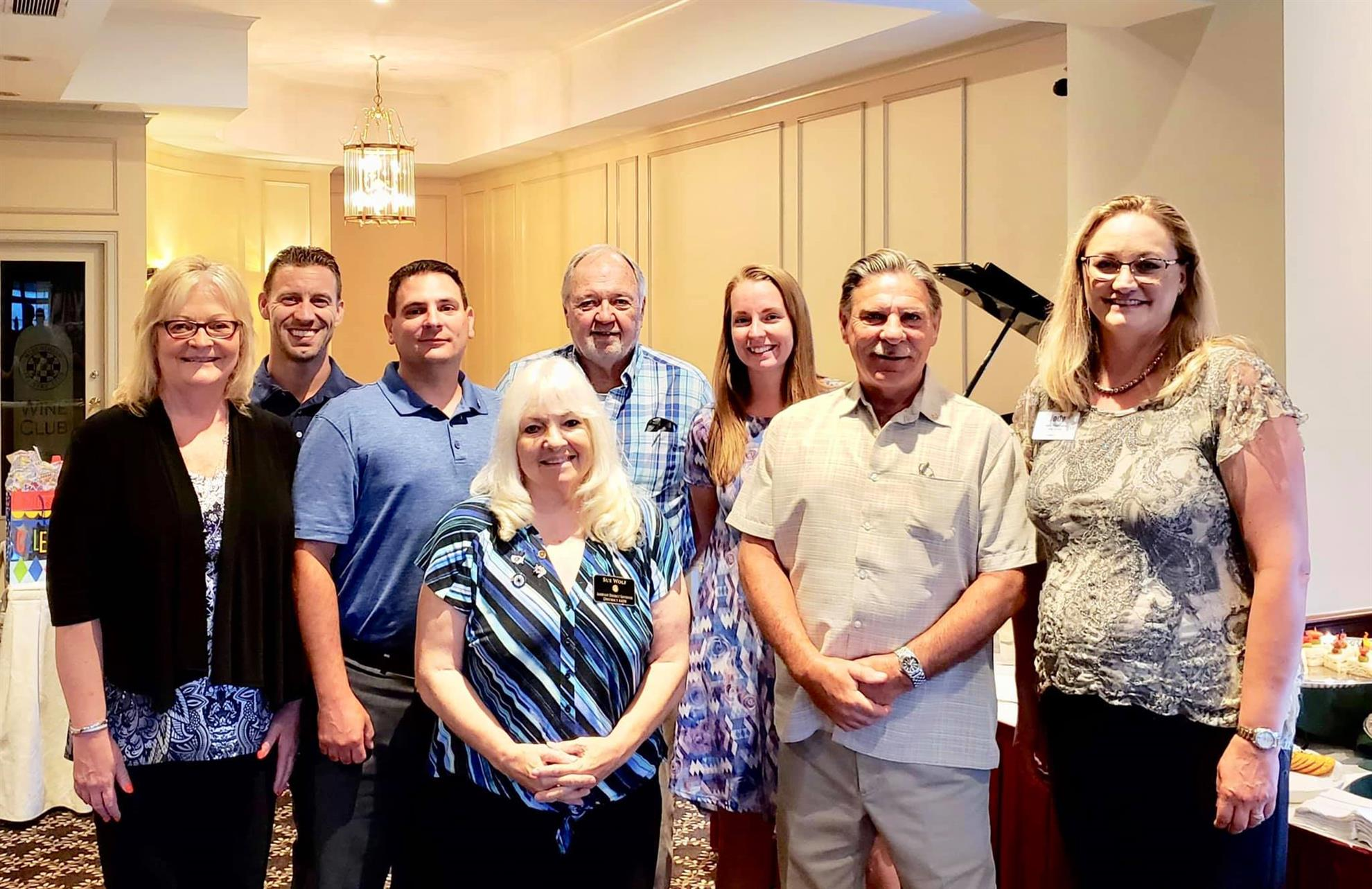 Oak Forest Rotary Board of Directors 2018-2019