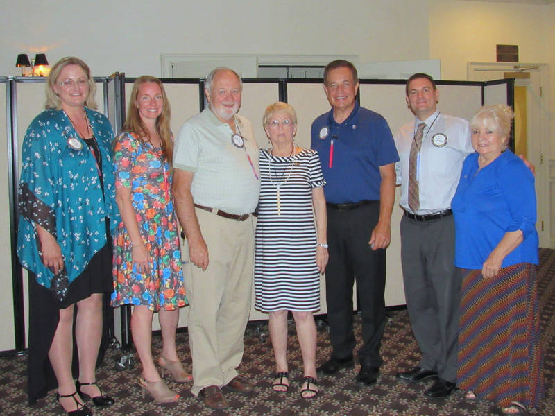 Oak Forest Rotary Board of Directors 2018-2019