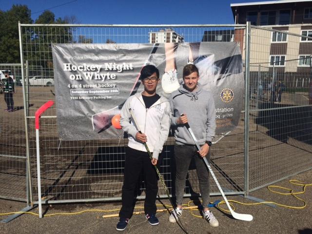 Hockey Night On Whyte 2016 Rotary Club Of Edmonton Whyte Avenue