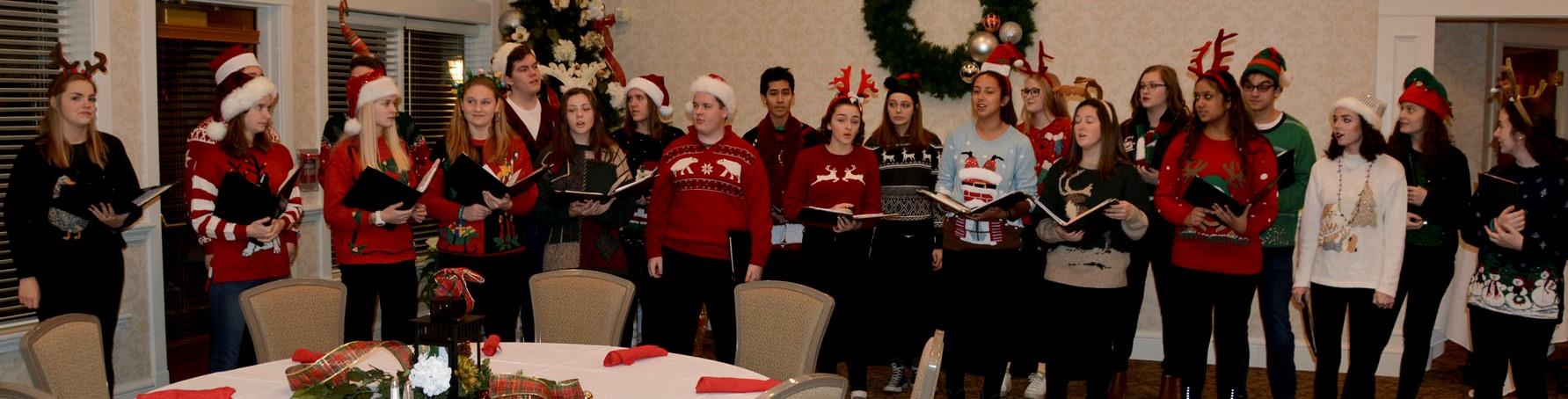 EPHS Chamber Choir Provided Entertainment