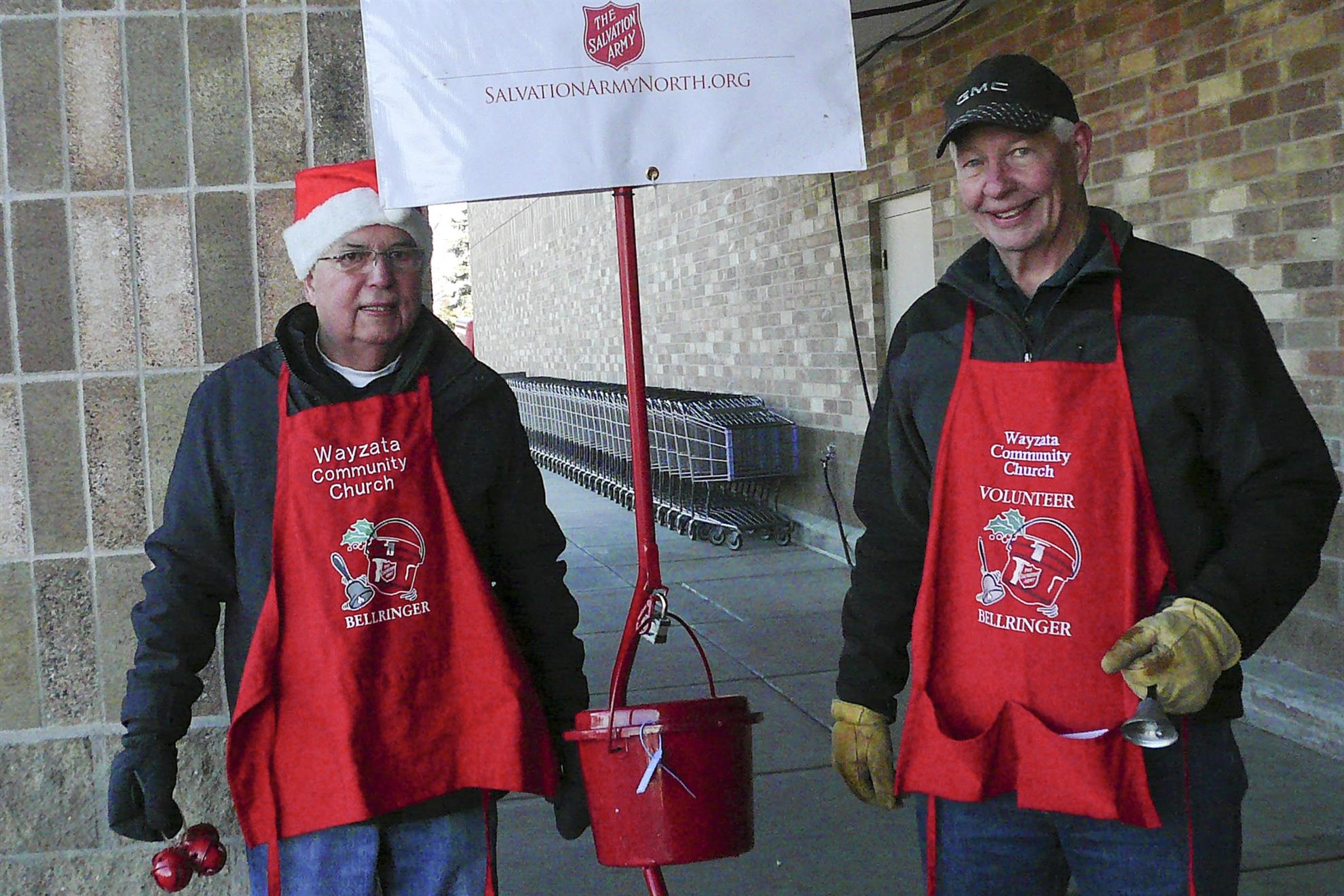 Bell-ringing for Salvation Army
