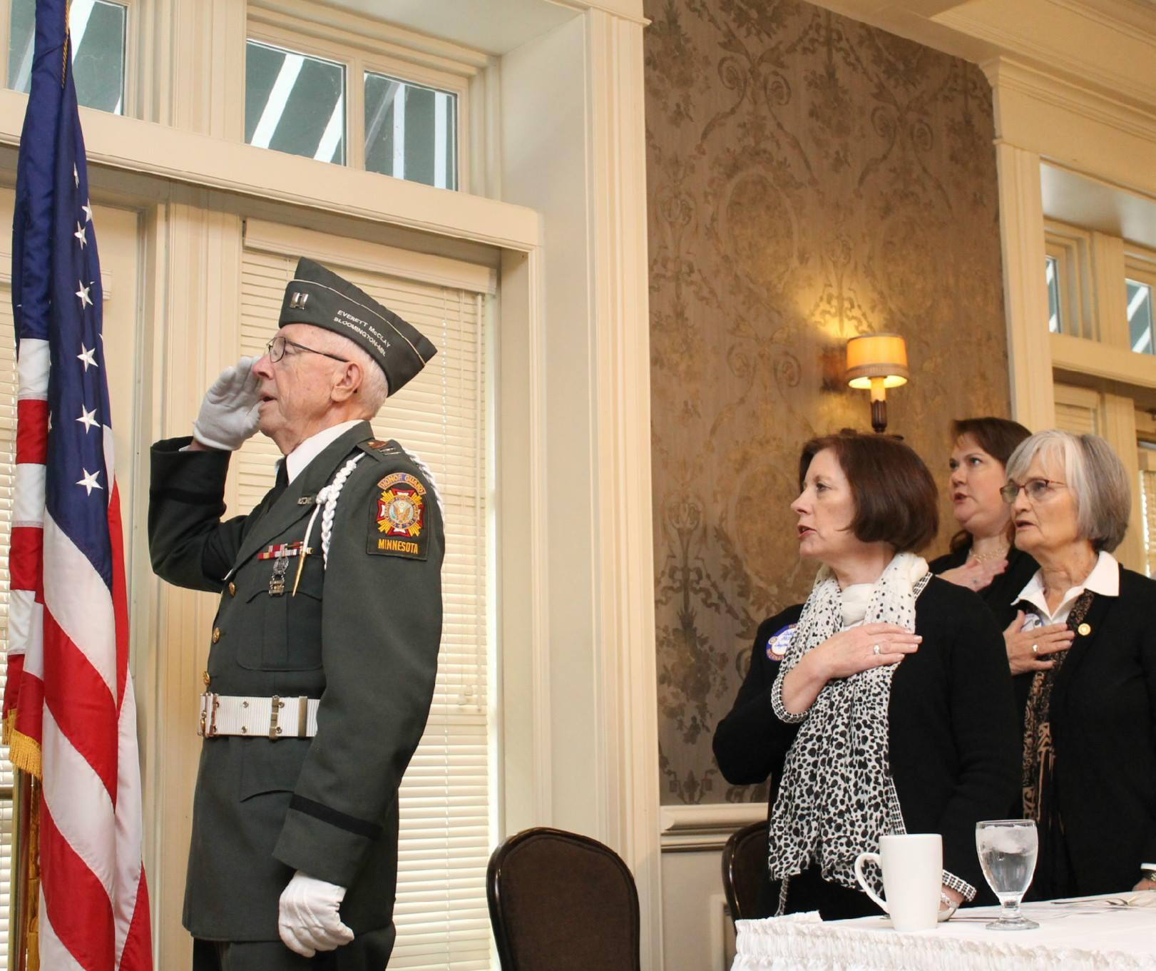 Area 3 Veterans Day Lunch to Honor Veterans