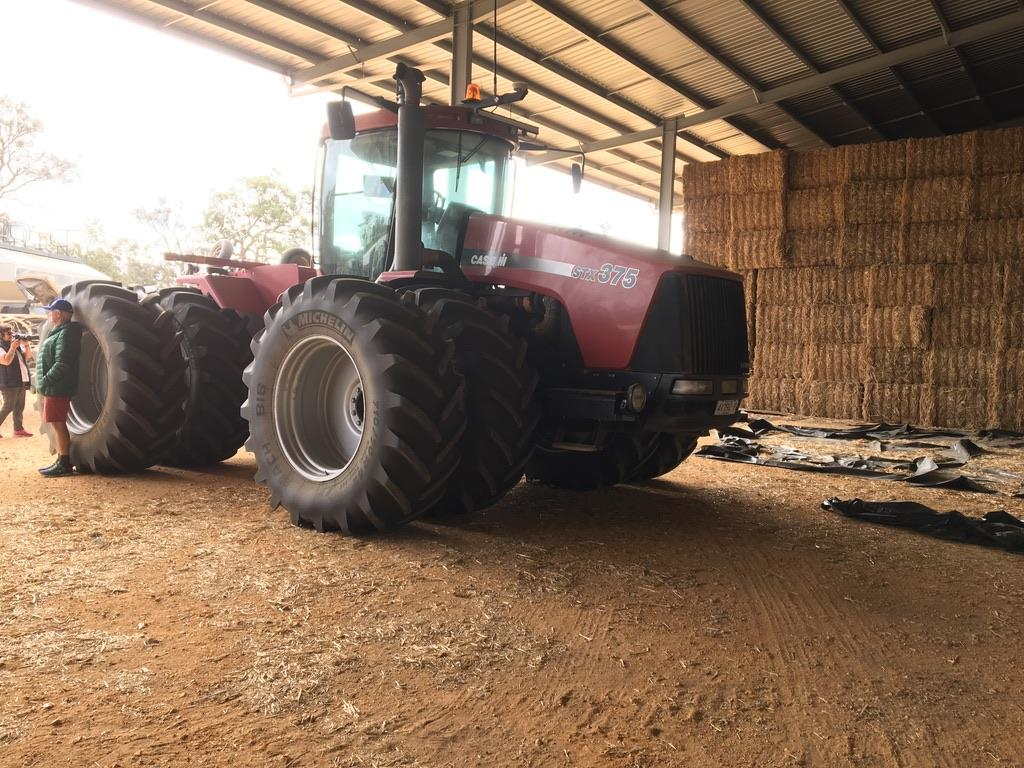 Monster GPS controlled tractors