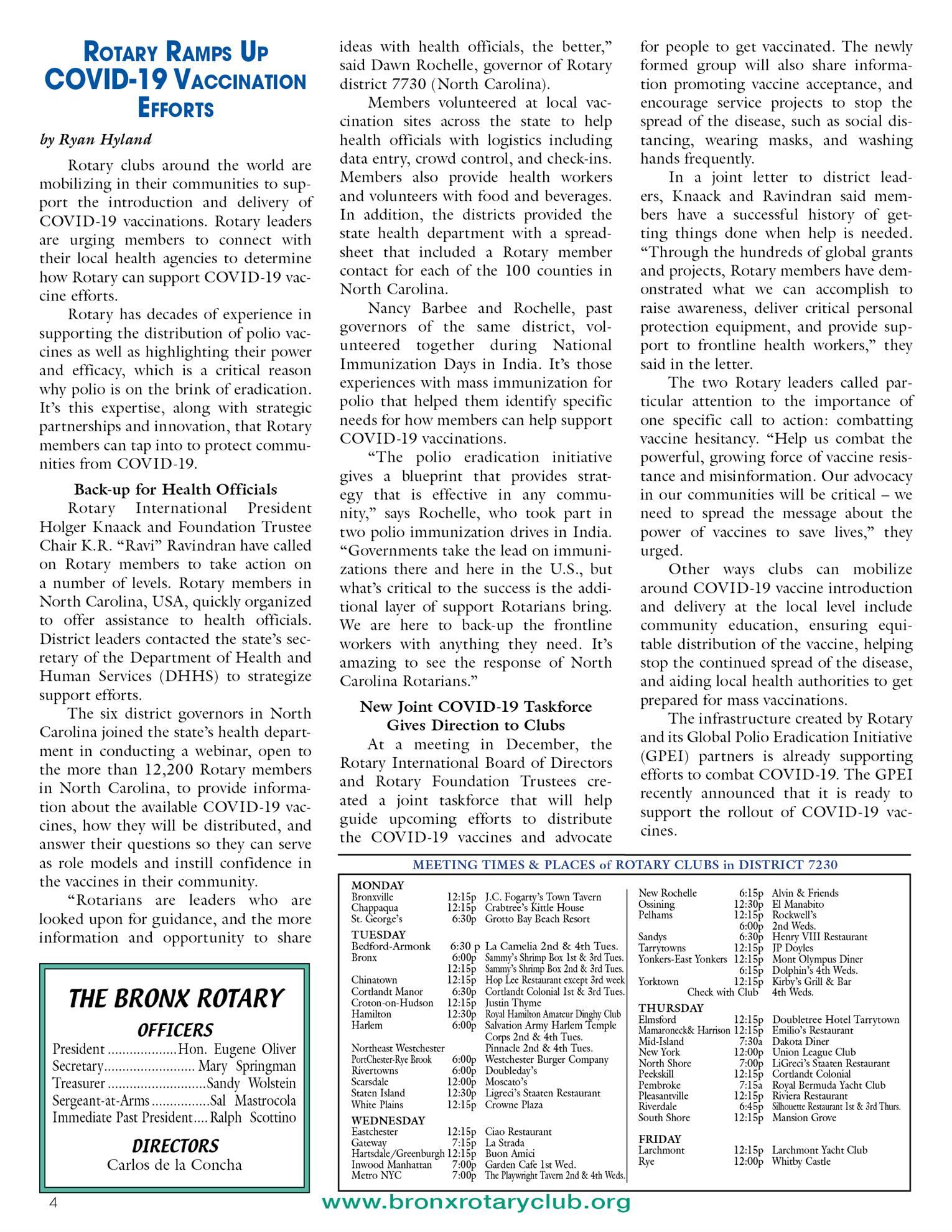 Tuesdays newsletter 1/26 & 2/2/2021 p4