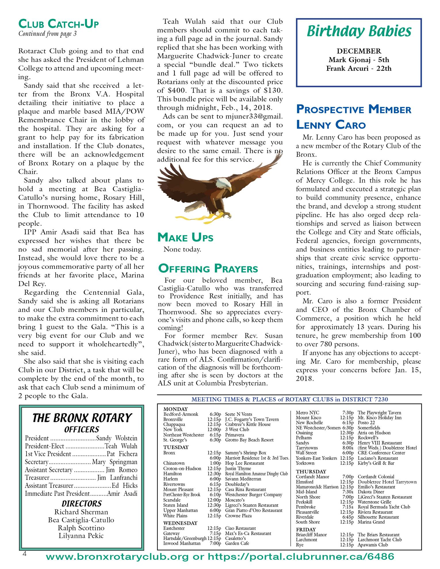 Tuesdays Newsletter 12/19 & 12/26/17 & 1/9/18 p4