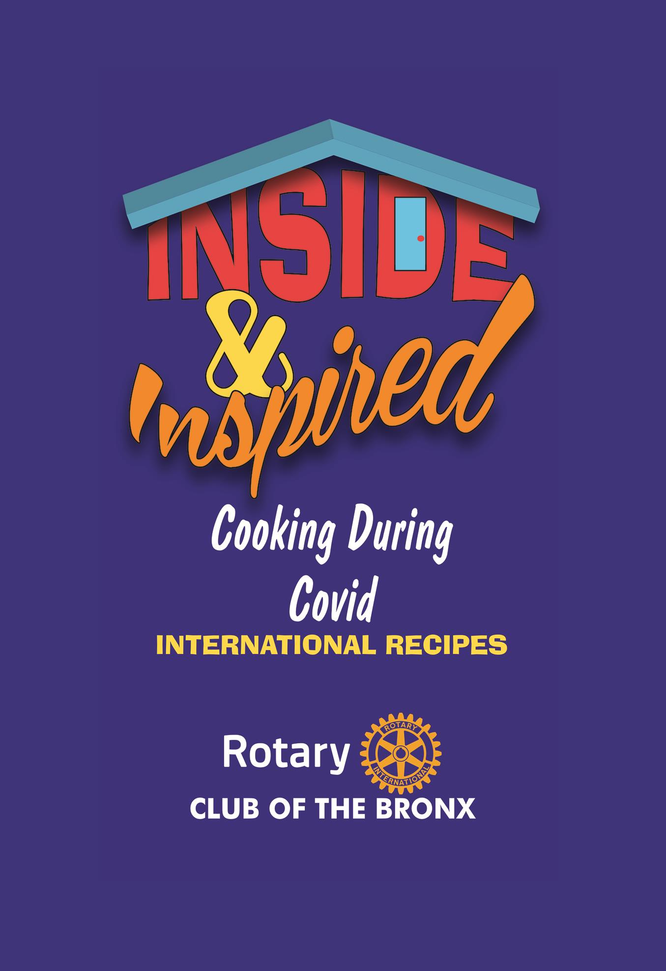 Inside and Inspired Cookbook cover