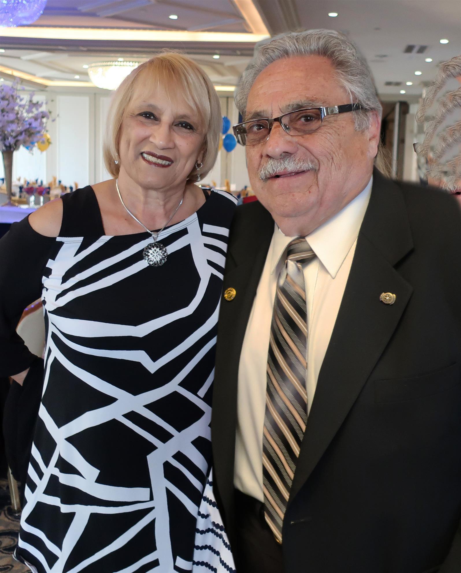 Ralph Scottino and Pat Fichera