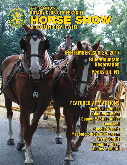 Horse Show Journal Cover