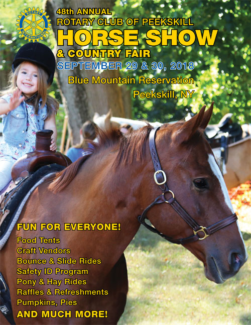 Horse Show Journal Cover with Young Girl Sitting on a Horse Waving