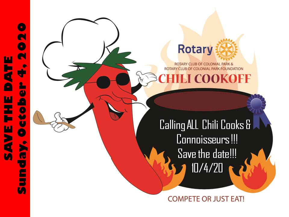 2nd Annual Chili Cookoff