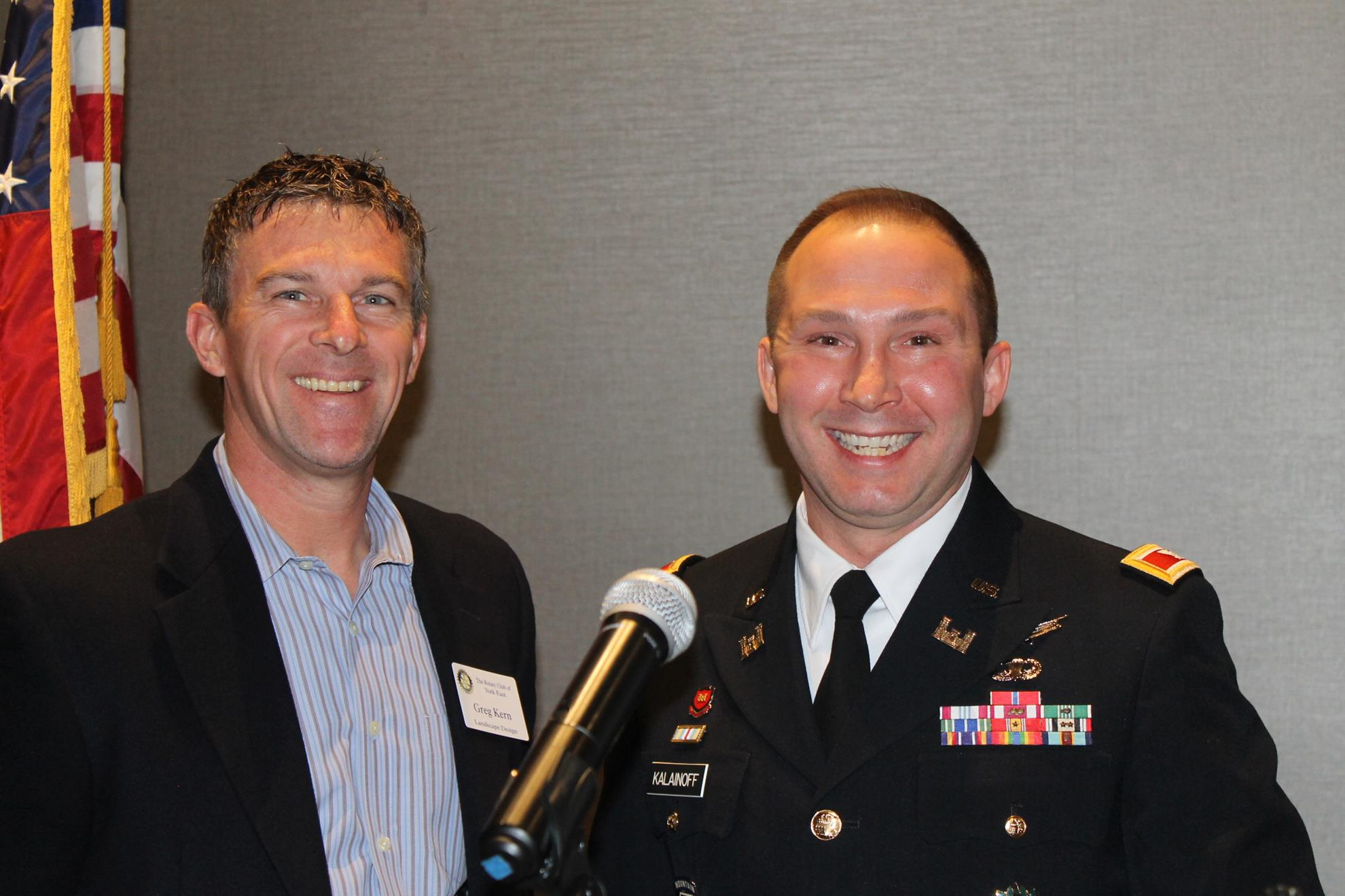 stories rotary club of york east jason kalainoff us army space operations officer and student at the us army war college in carlisle barracks spoke to york east rotarians at their weekly