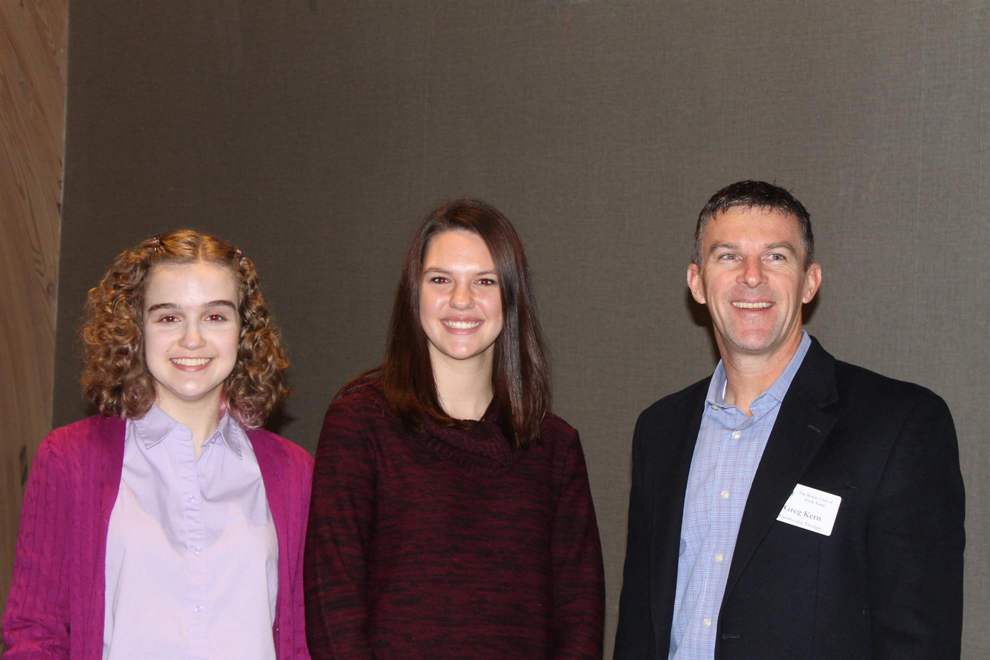 stories rotary club of york east the york east rotary recognized two students from the york county school of technology for the month of catie noble junior and tori sneeringer