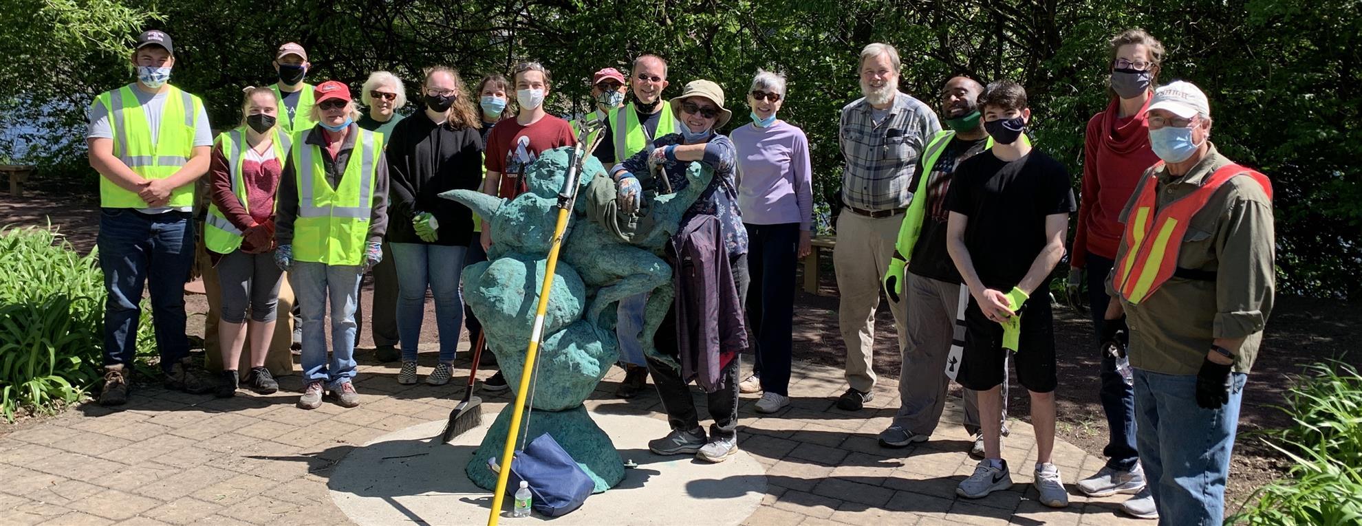 Centennial Park 2021 Cleanup