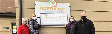 OUR TASTES & TUNES 2020 PROCEEDS PROVIDE $13,000 FOR NORTHEAST COMMUNITY CENTER'S FOOD PANTRY