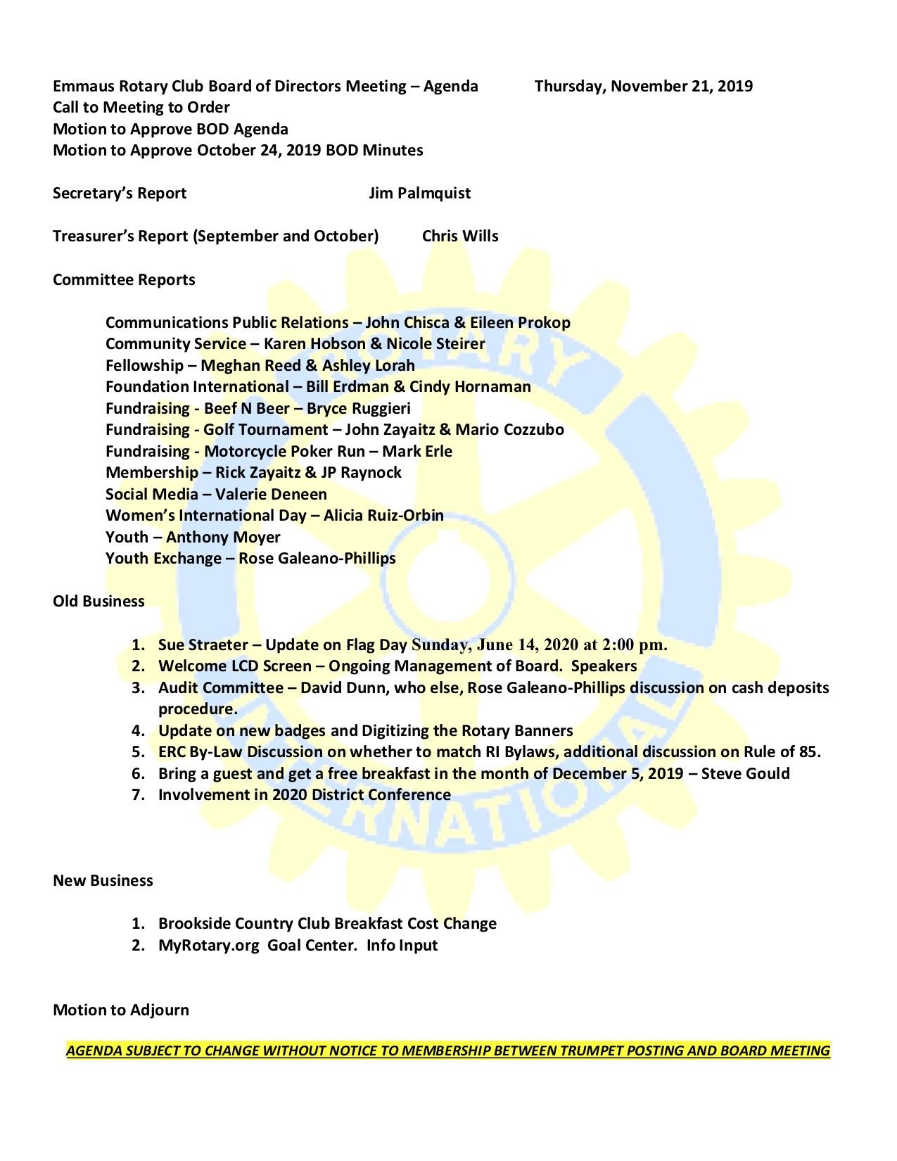 Stories Rotary Club Of Emmaus