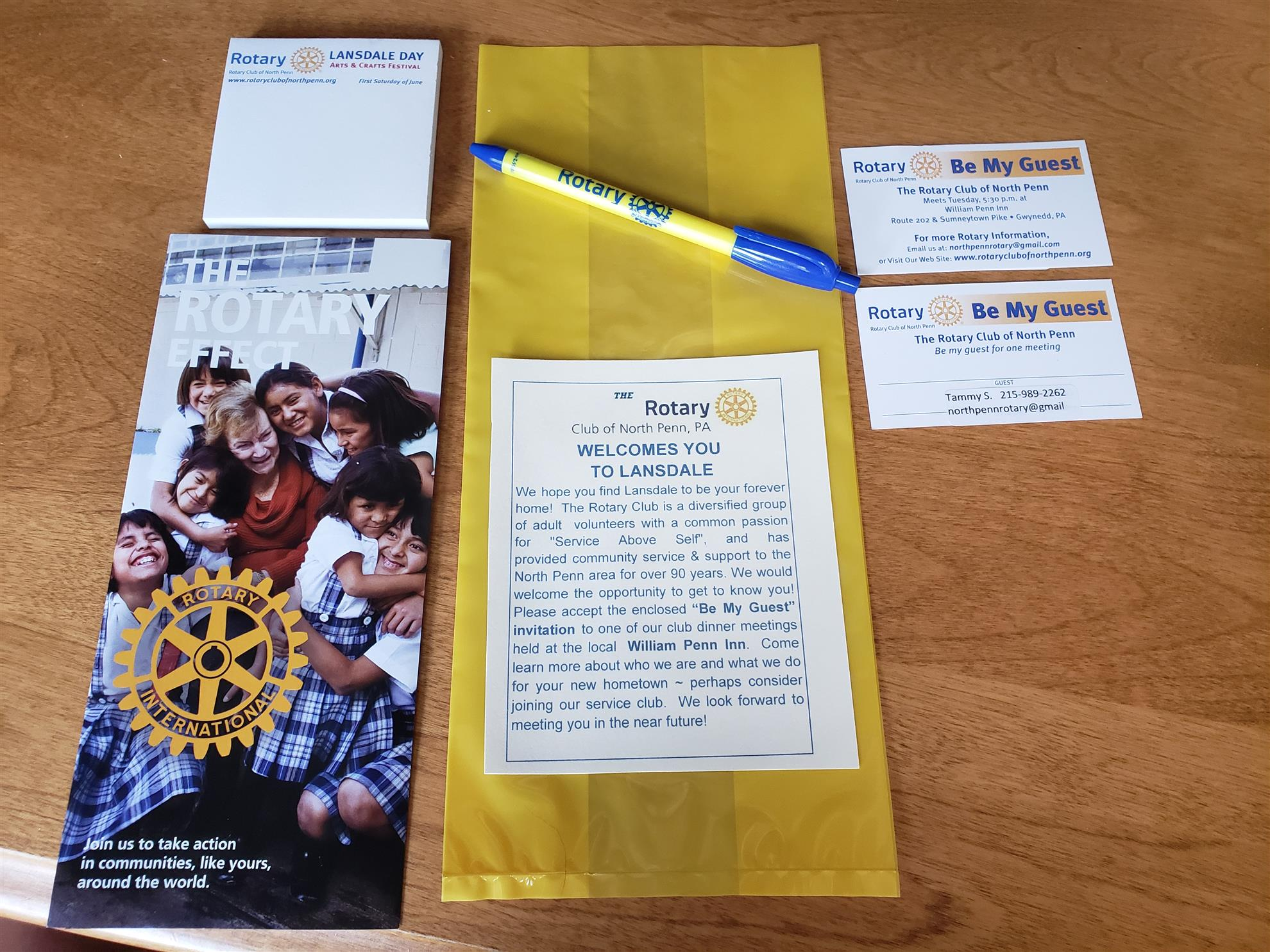 Home Page | Rotary Club of North Penn