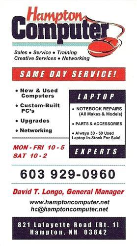 Hampton Computer, LLC