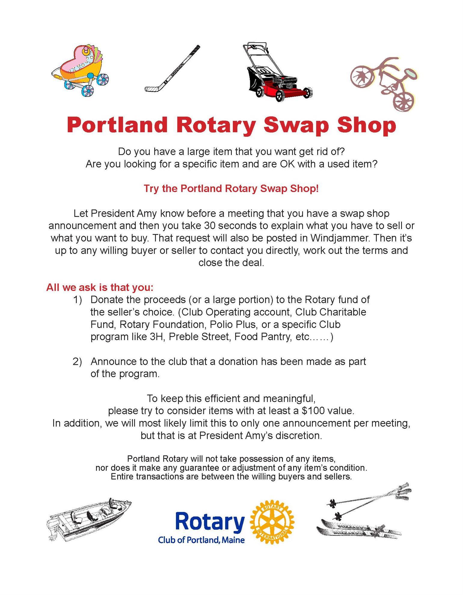 Stories   Rotary Club of Portland