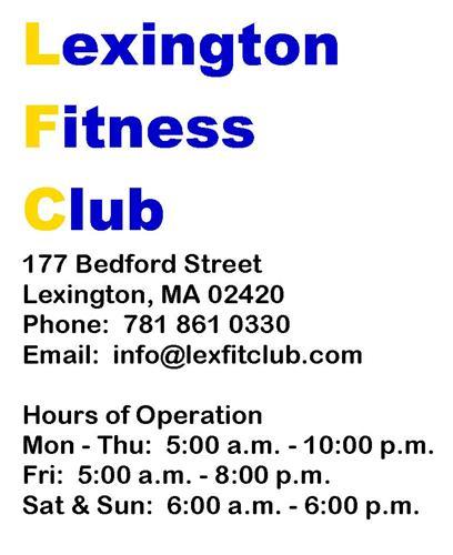 Lexington Fitness Club
