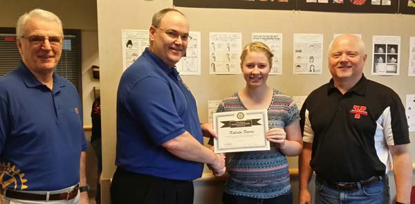 January 2016 Student of the Month