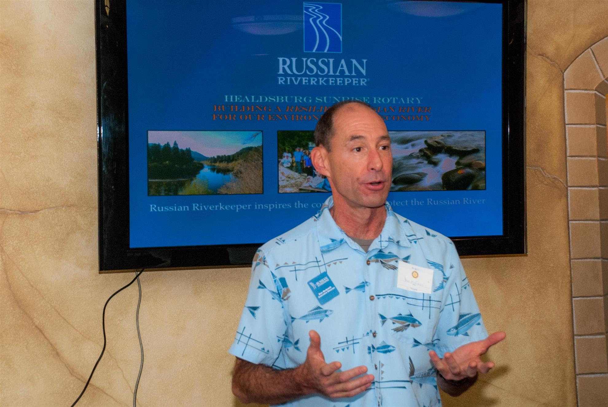 Russian River Keeper Association - Don McEnhill   Rotary Club of