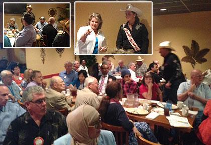 Rowell Ranch Rodeo & Hayward Rotary Visit CV Rotary