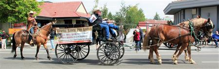 Rowell Ranch Rodeo Parade