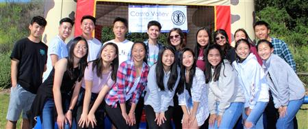 CVHS Interact Club at the Chili Cook-off