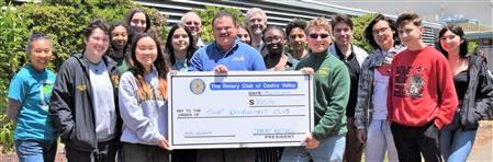 Donation to the CVHS Smart Environment Club