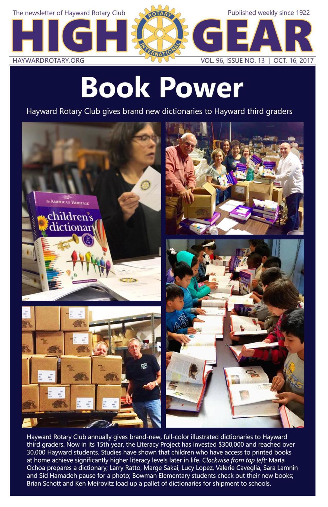 "October 16, 2017: ""Book Power"""