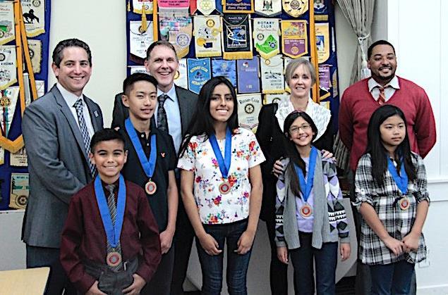 Hayward Rotary Scholars 2017