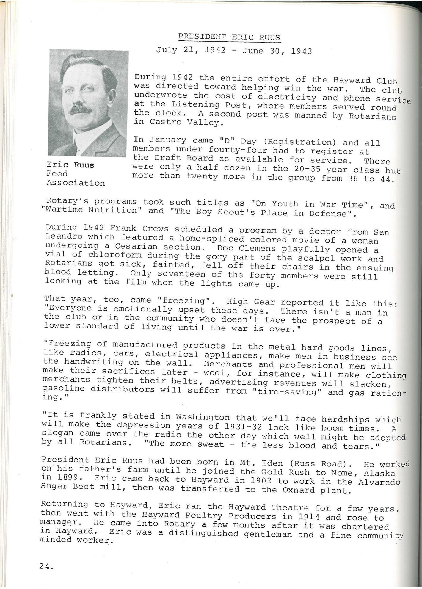 Club Archives Rotary Club Of Hayward