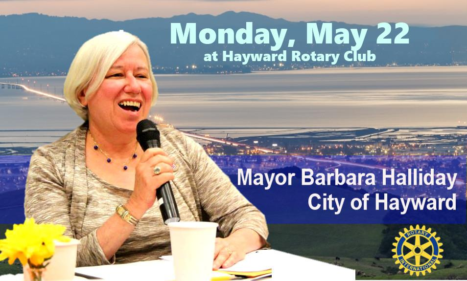Mayor Barbara Halliday