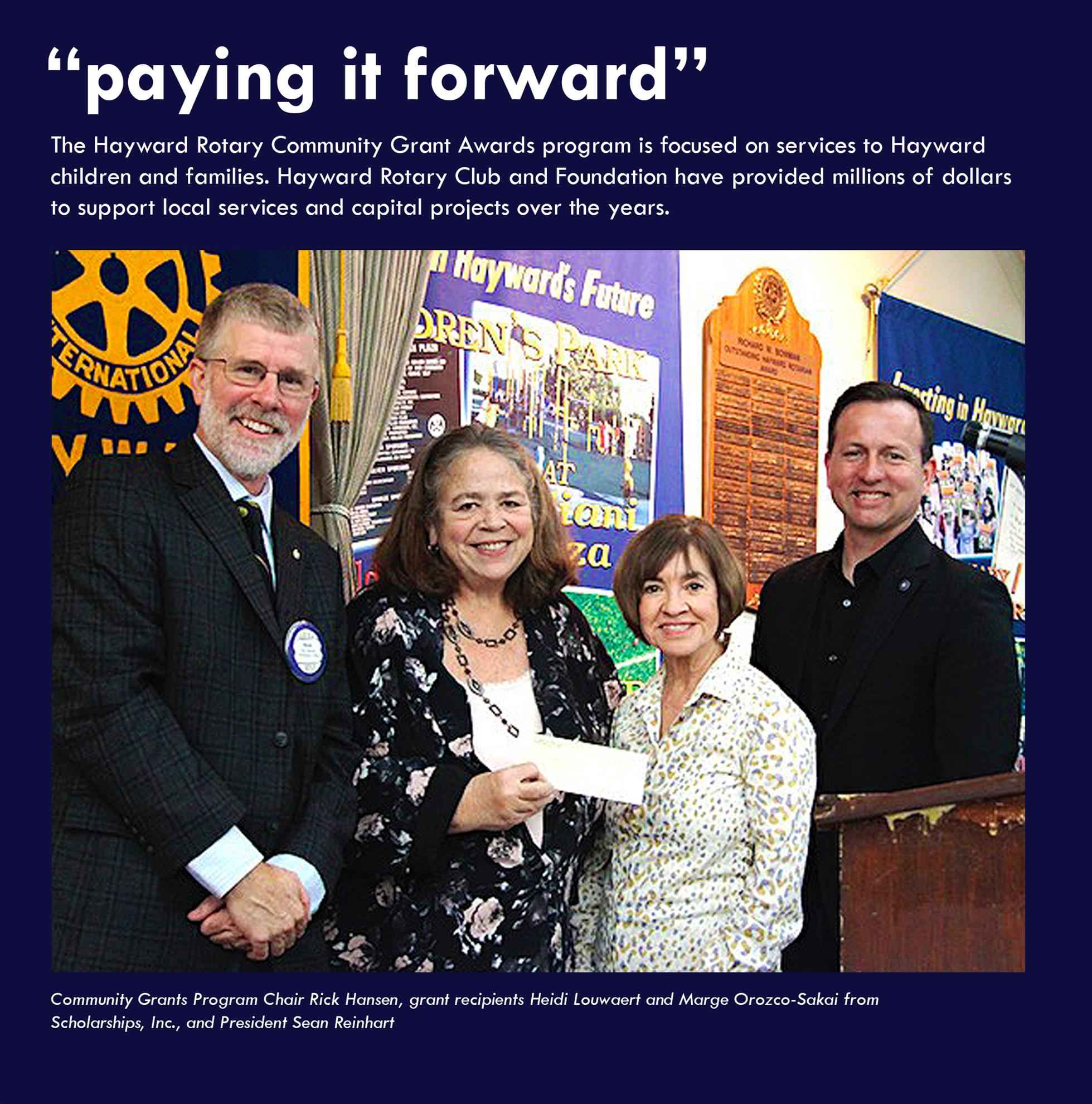 Stories | Rotary Club of Hayward