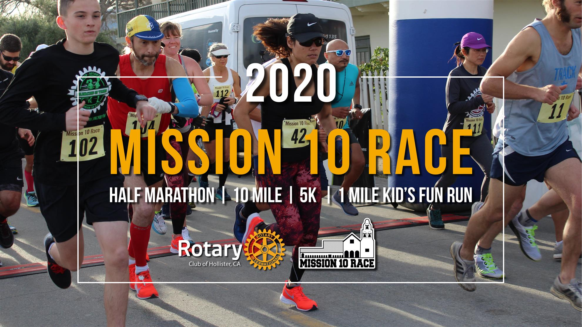 c6efa1ff5492f The 37th Annual Mission 10 Race is set for Saturday, January 25, 2020 in  beautiful and historic San Juan Bautista, CA.