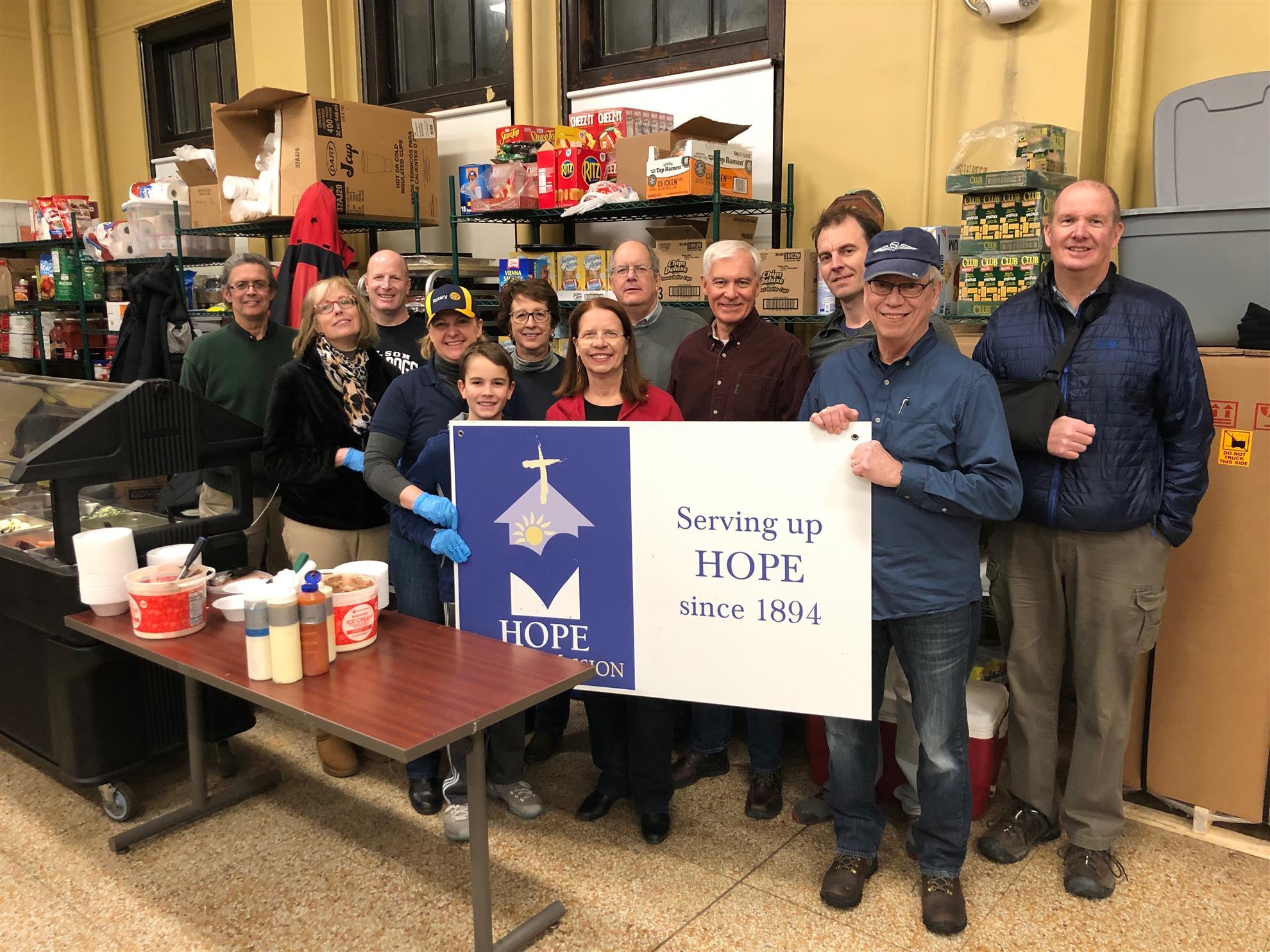 Serving Up Hope