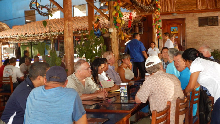 OUR HOSTED LUNCH WITH MANAGUA ROTARY CLUB MEMBERS
